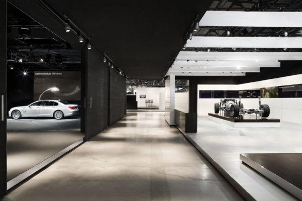 Concept & Architecture Dealer Drive BMW München  for Bluescope