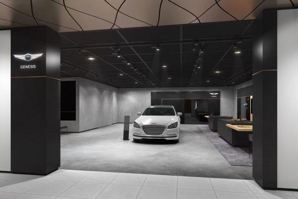 Creative Direction Hyundai, Genesis Shop in Shopfor Leo Burnett